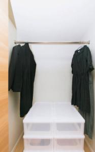 衣装ケースの配置