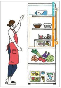 冷蔵庫収納の基本