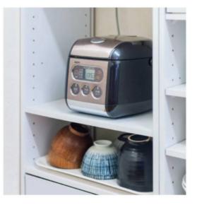 炊飯器置き場として